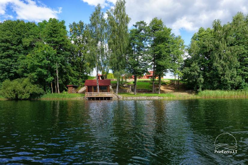 Homestead at the lake in Moletai district Villa Baluosas - 25