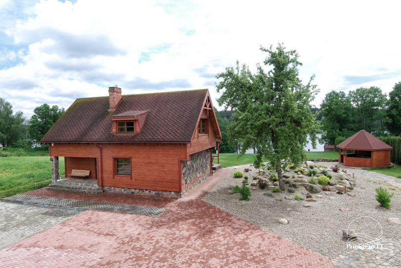 Homestead at the lake in Moletai district Villa Baluosas - 44