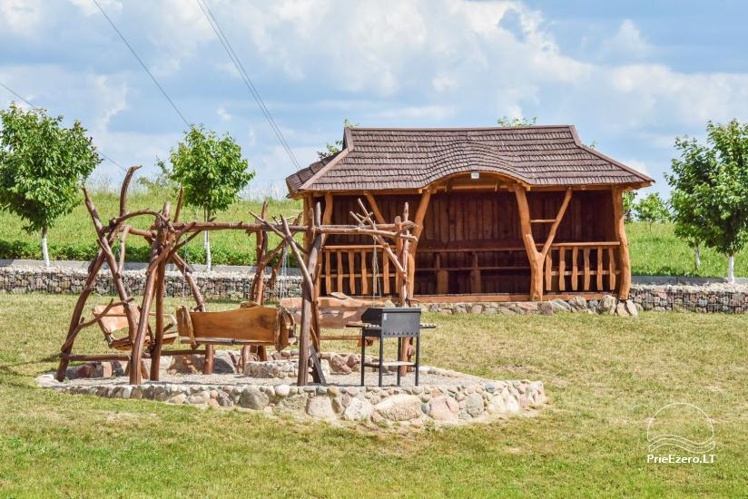 Holiday cottages for rent – Countryside homestead Coziness in Trakai district - 8