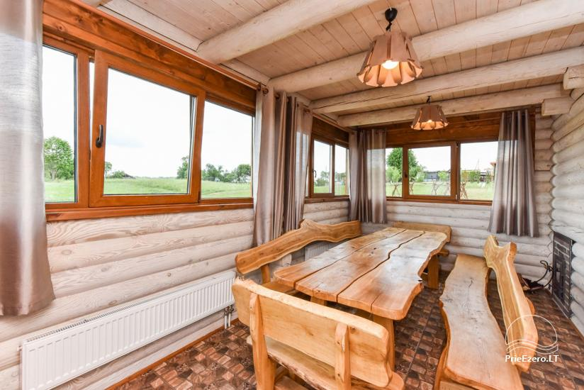 Holiday cottages for rent – Countryside homestead Coziness in Trakai district - 31