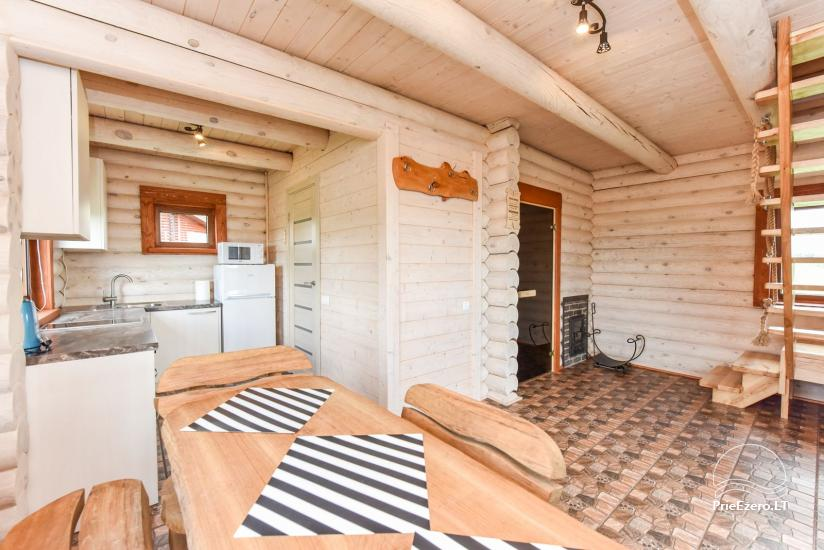 Holiday cottages for rent – Countryside homestead Coziness in Trakai district - 22