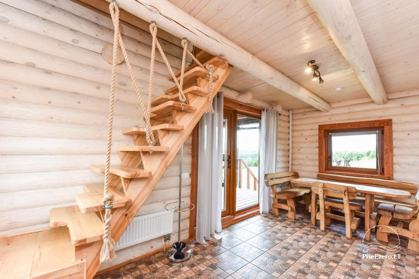 Holiday cottages for rent – Countryside homestead Coziness in Trakai district - 24