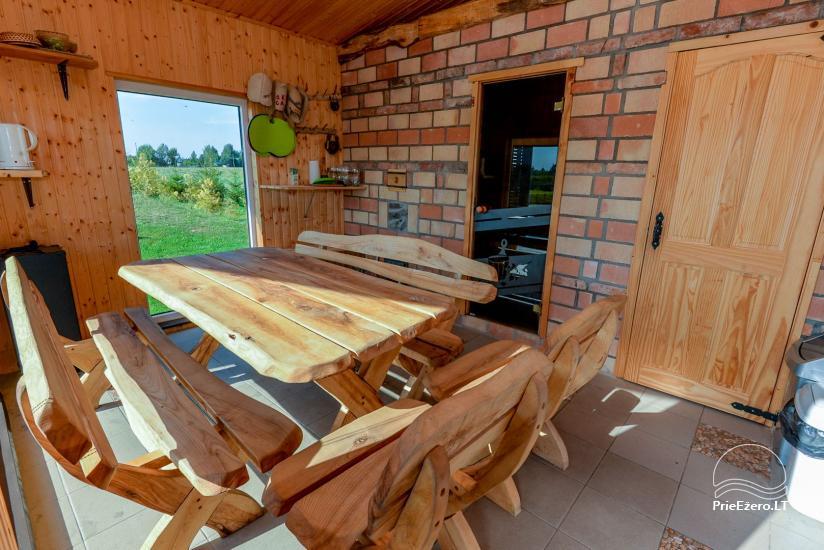 Gospodarstwo z sauną w regionie Kowna - 15