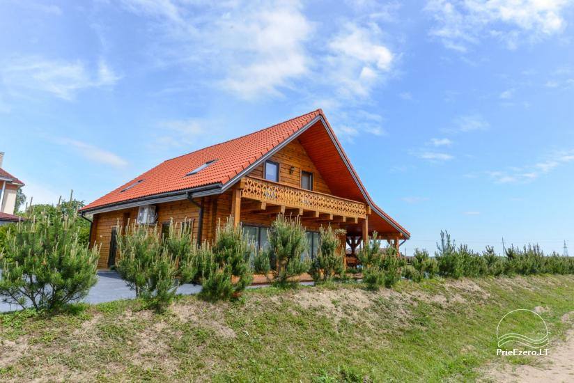 Wooden countryside homestead for rent Rąstinukas - 1