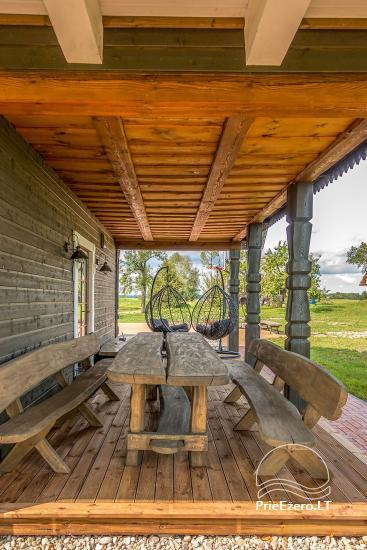 «Villa Rica» - сельская усадьба возле Друскининкай - 13