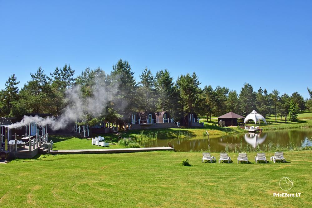 Mileikiai homestead: sauna, hot tub, bed, entertainment - 4