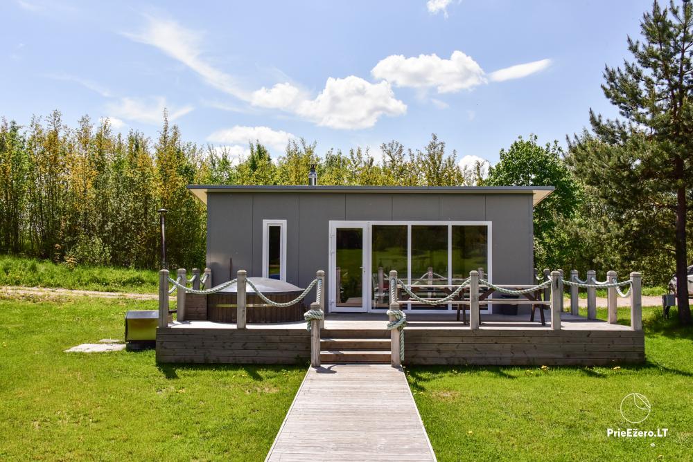 Mileikiai homestead: sauna, hot tub, bed, entertainment - 11