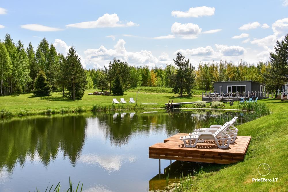 Mileikiai homestead: sauna, hot tub, bed, entertainment - 7
