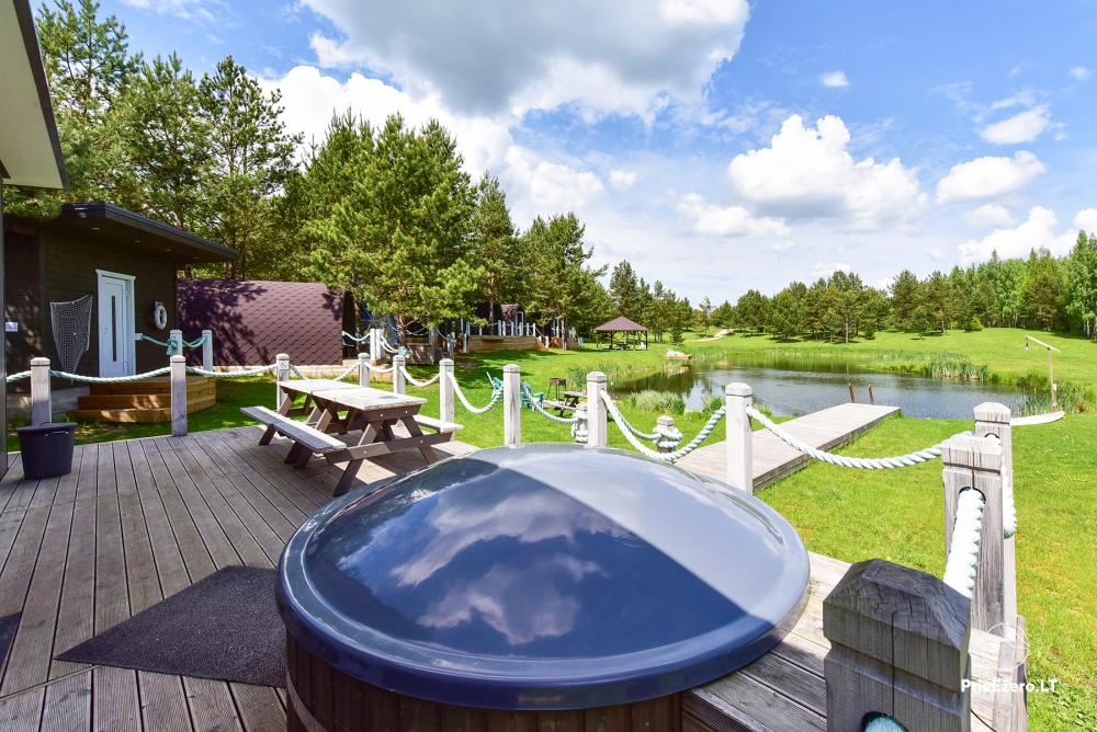 Mileikiai homestead: sauna, hot tub, bed, entertainment - 9
