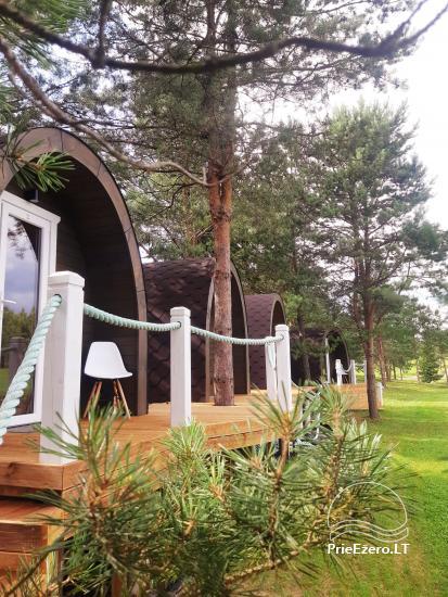Mileikiai homestead: sauna, hot tub, bed, entertainment - 5