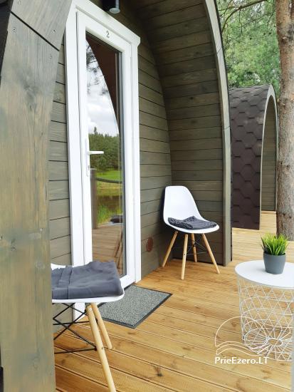 Mileikiai homestead: sauna, hot tub, bed, entertainment - 6