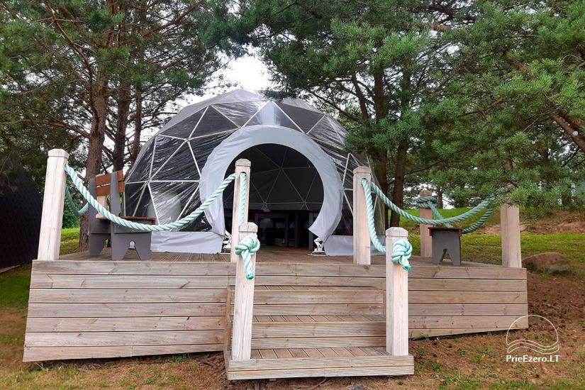 Mileikiai homestead: sauna, hot tub, bed, entertainment - 31