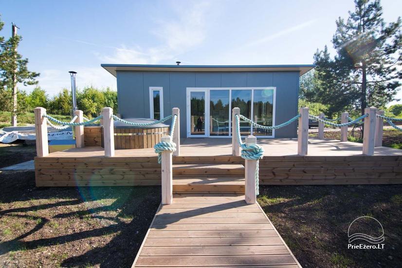 Mileikiai homestead: sauna, hot tub, bed, entertainment - 1