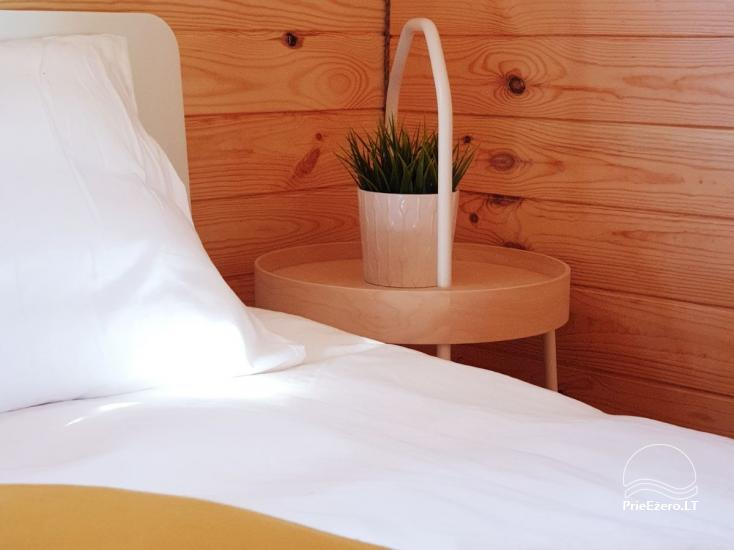 Mileikiai homestead: sauna, hot tub, bed, entertainment - 27