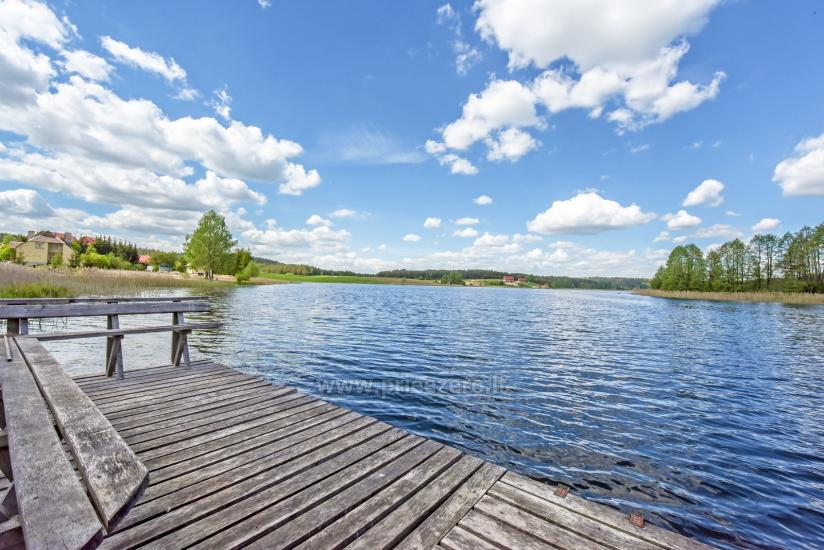 Усадьба в Тракайском районе на озере Балуосис - 8