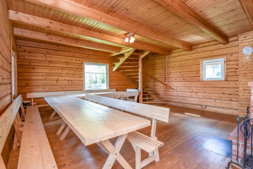 Homestead in Trakai region at the lake Baluosys - 13