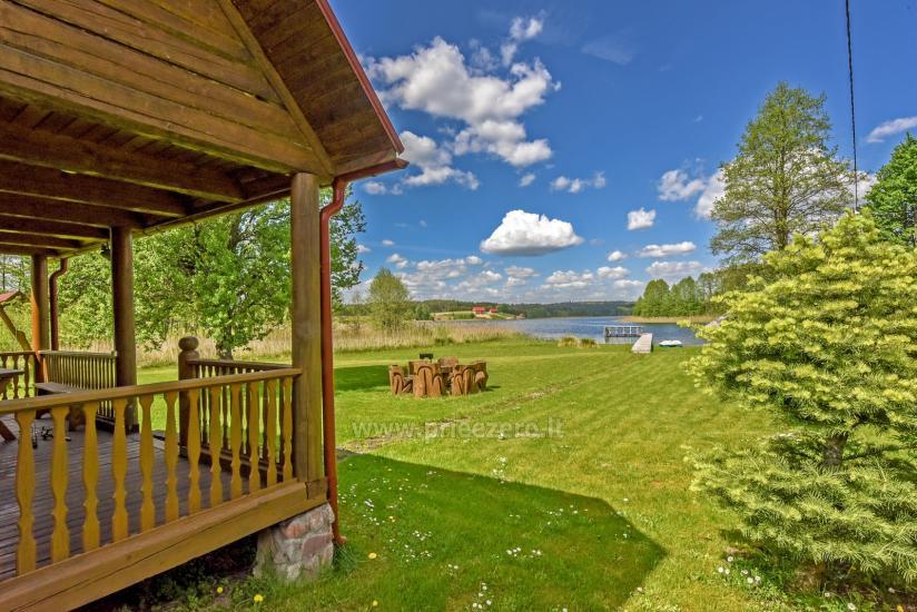 Homestead in Trakai region at the lake Baluosys - 20
