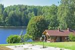 Landsitz in der Region Utena am See Ilgis - 8