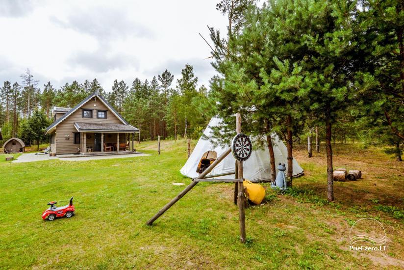 Villa and mini SPA near the lake in a forest - 35
