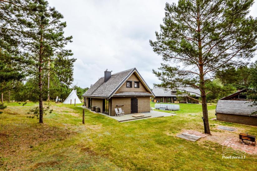 Villa and mini SPA near the lake in a forest - 33