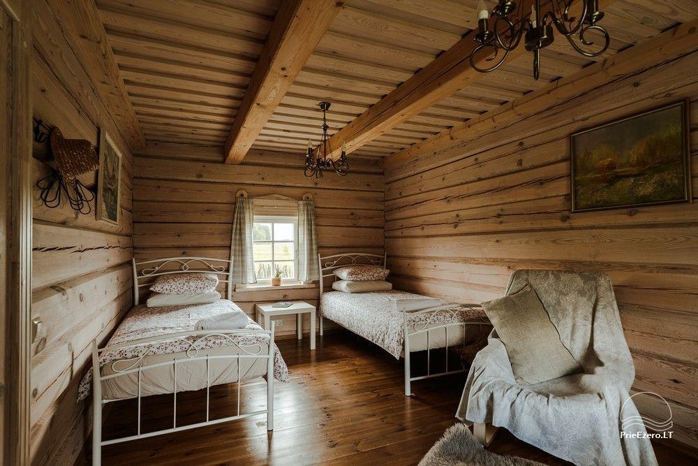 Ethnographic homestead in Lithuania Po Vienu Rūmu - 13