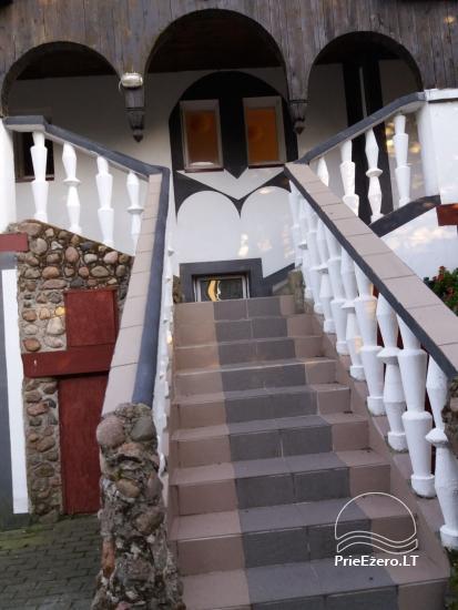 Sala bankietowa, sauna, pokoje do wynajęcia blisko morza Bałtyckiego - 3