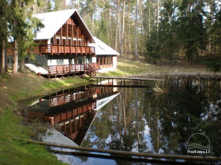 Tourism center in Birstonas near the river Nemunas - 1