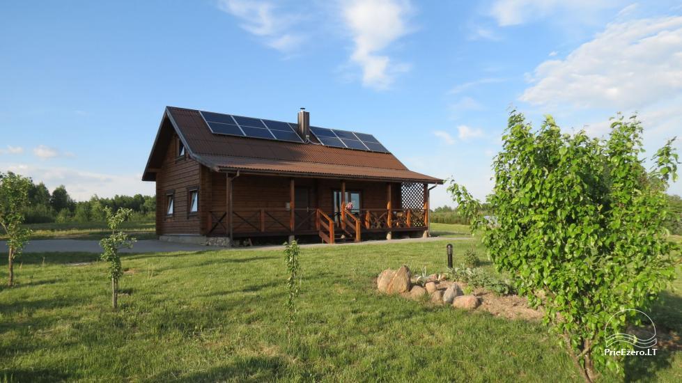Landschaftshaus nahe dem See in Litauen - 1