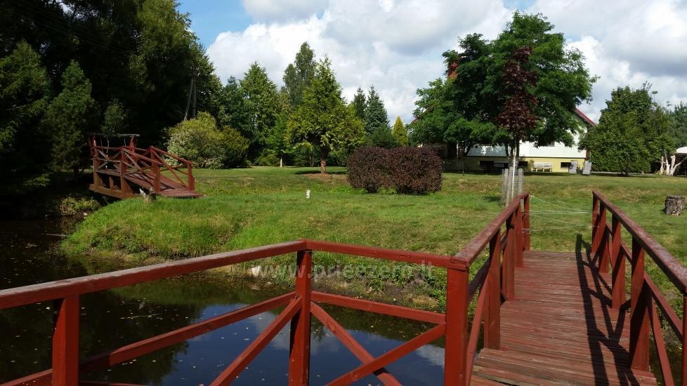Homestead Jotovila in Silute region. Banquet, conference hall, bath - 14