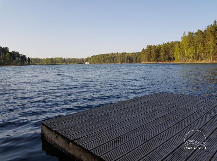 Gospodarstwo rodzinne 40 km od stolicy Wilna, w pobliżu jeziora - 1