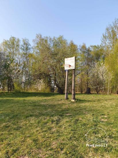 Gospodarstwo rodzinne 40 km od stolicy Wilna, w pobliżu jeziora - 3