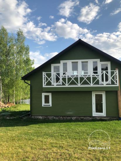 Alanta stud and a homestead with sauna in Moletai region, in Lithuania - 2