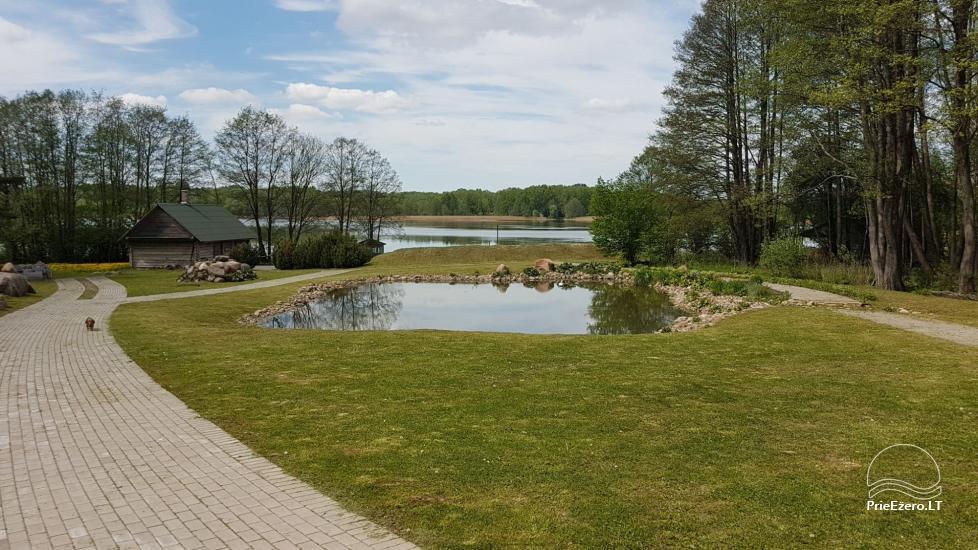 Деревенская усадьба у озера Швенчиус - 3