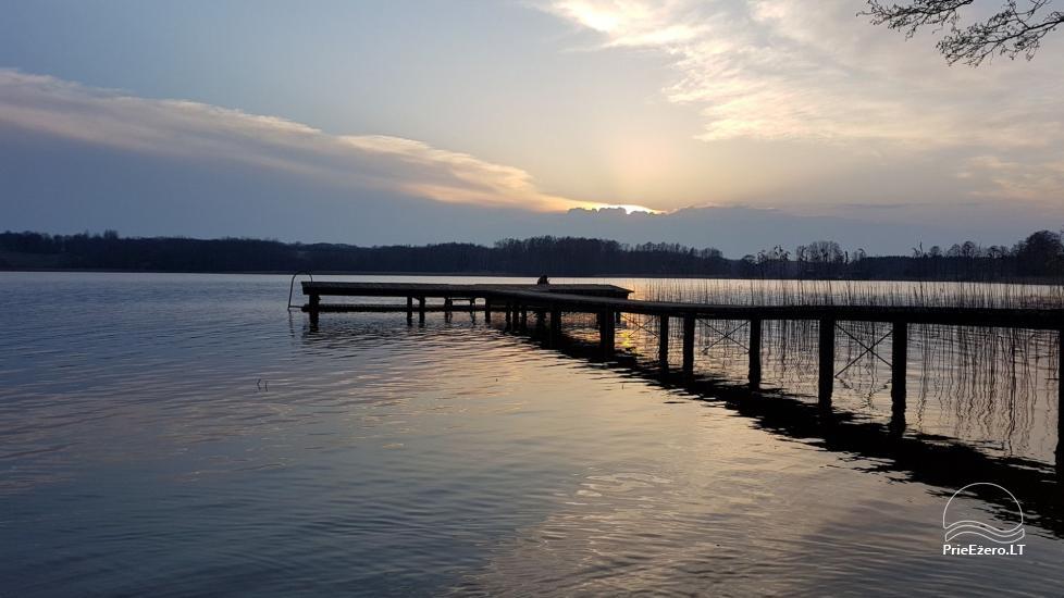 Деревенская усадьба у озера Швенчиус - 8