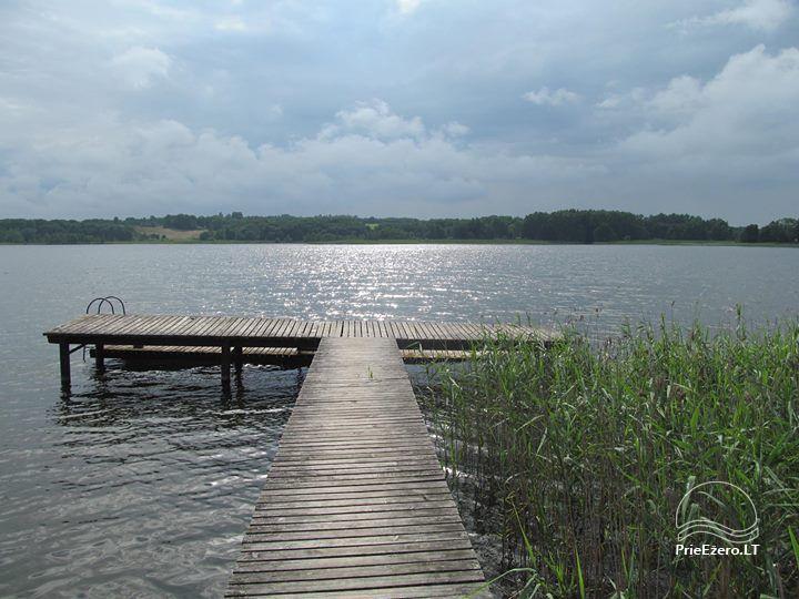 Деревенская усадьба у озера Швенчиус - 11