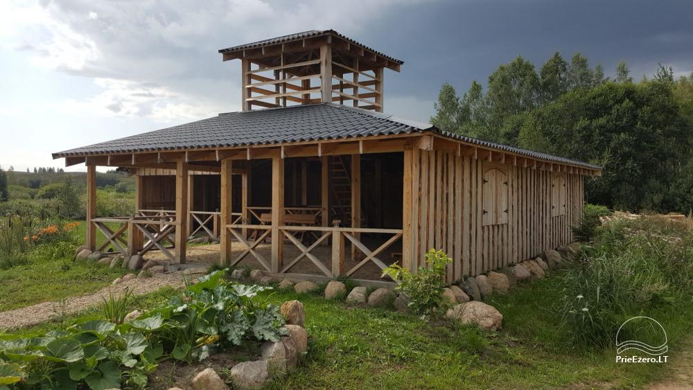 Countryside homestead in Trakai region, in Lithuania - 1