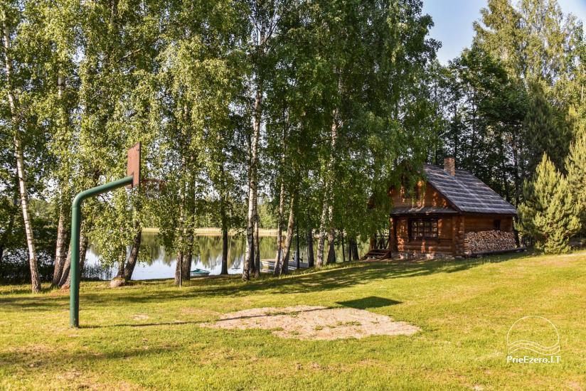 Log house - villa and sauna near Lake Auslo in Zarasai district - homestead AUSLA - 42