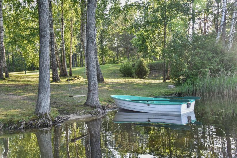 Log house - villa and sauna near Lake Auslo in Zarasai district - homestead AUSLA - 19