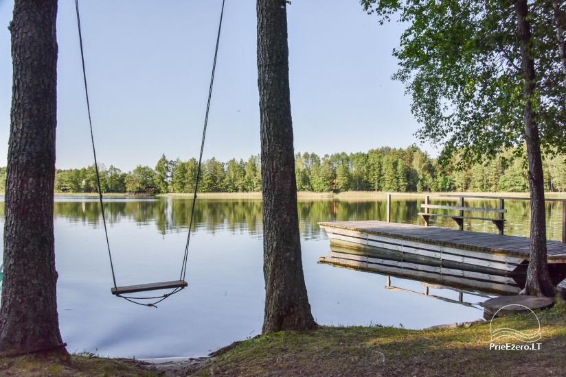 Log house - villa and sauna near Lake Auslo in Zarasai district - homestead AUSLA - 20