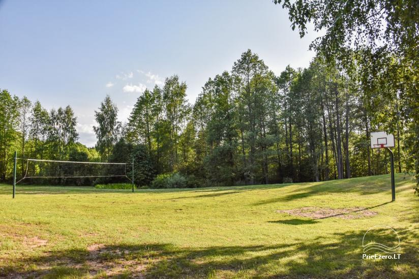 Log house - villa and sauna near Lake Auslo in Zarasai district - homestead AUSLA - 12