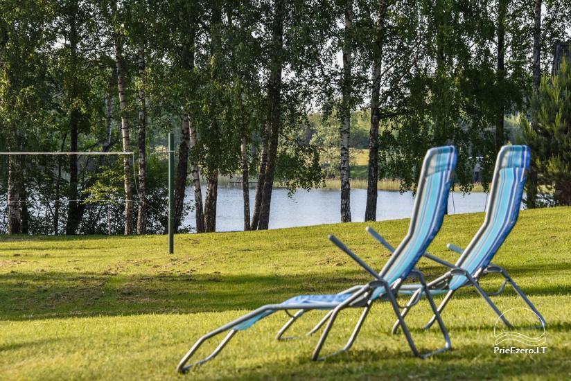 Log house - villa and sauna near Lake Auslo in Zarasai district - homestead AUSLA - 11