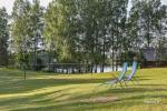 Бревенчатый дом и баня у озера Аускло в Зарасайском районе - усадьба AUSLA - 10