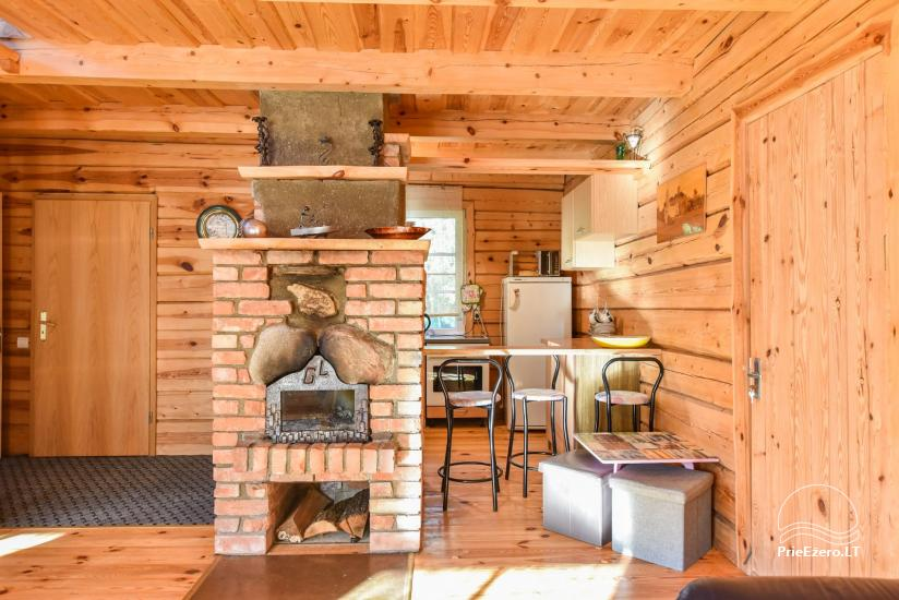 Log house - villa and sauna near Lake Auslo in Zarasai district - homestead AUSLA - 27