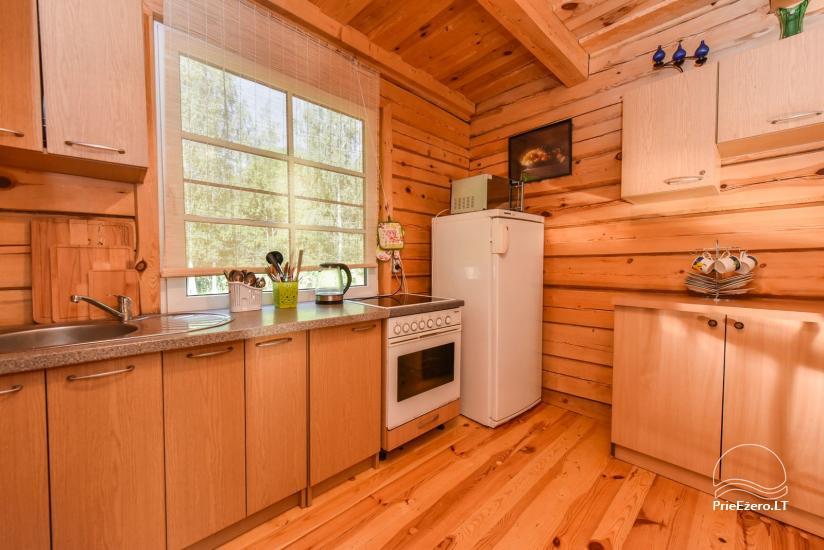 Log house - villa and sauna near Lake Auslo in Zarasai district - homestead AUSLA - 28