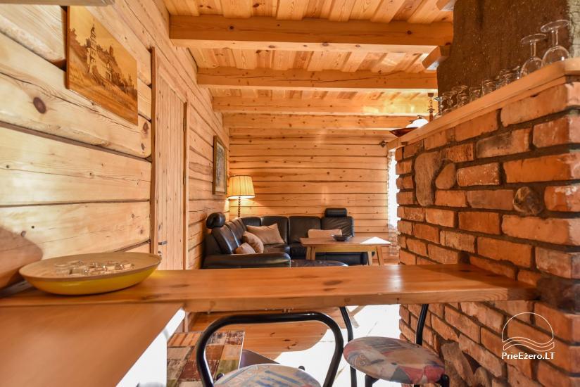Log house - villa and sauna near Lake Auslo in Zarasai district - homestead AUSLA - 29