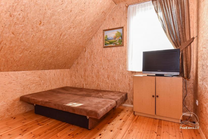Log house - villa and sauna near Lake Auslo in Zarasai district - homestead AUSLA - 32