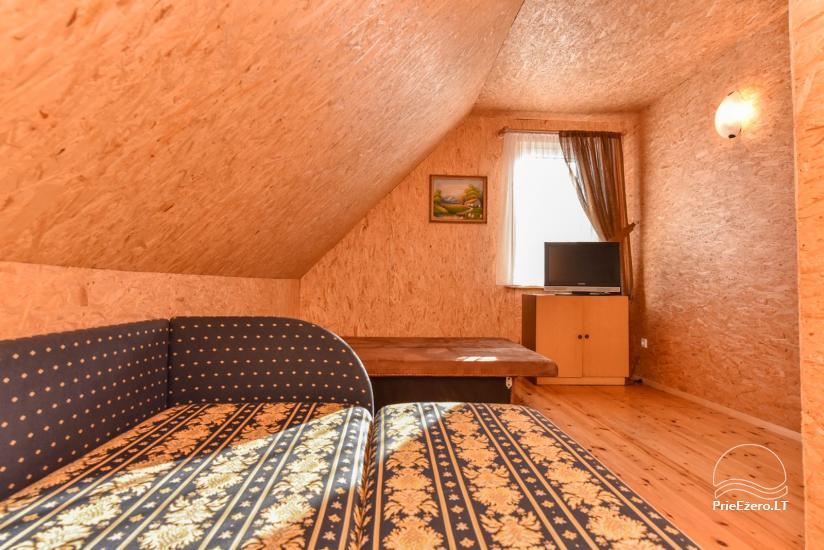 Log house - villa and sauna near Lake Auslo in Zarasai district - homestead AUSLA - 33