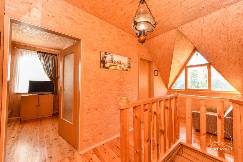 Log house - villa and sauna near Lake Auslo in Zarasai district - homestead AUSLA - 30