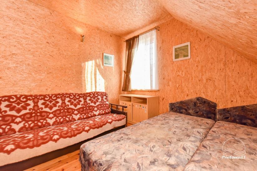 Log house - villa and sauna near Lake Auslo in Zarasai district - homestead AUSLA - 35
