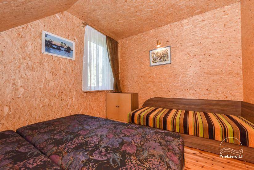 Log house - villa and sauna near Lake Auslo in Zarasai district - homestead AUSLA - 36